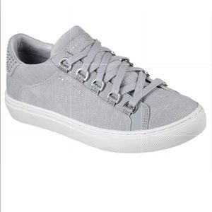 Skechers Side Street Street Shoes Grey Size 9